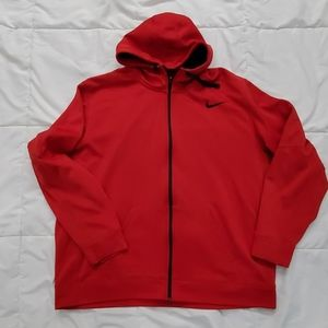 Nike scuba neck zip up hoodie